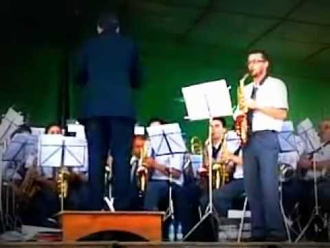 Fantasia for Alto Saxophone - Claude T. Smith - Banda Marcial de Nespereira and Fernando Ferreira