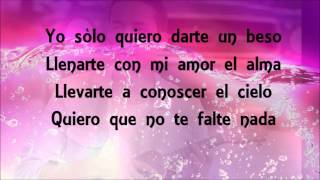 Prince Royce - Darte un beso (Letra - Lyrics)
