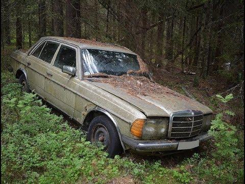 Забытые в лесу Заброшенные Автомобили