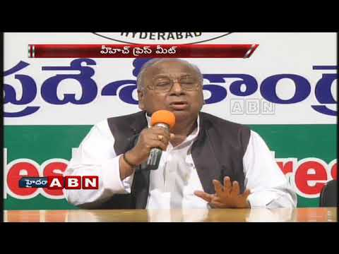 Congress Leader V Hanumantha Rao Speaks To Media Over Swami Paripoornananda Issue | ABN Telugu