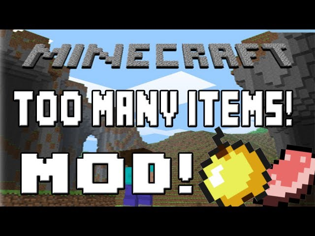 Minecraft 1.5.2 - Como instalar Too Many Items MOD - ESPAÑOL TUTORIAL