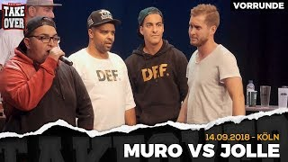 Muro vs. Jolle Takeover Freestyle Contest | Köln 14.09.18 (VR 3/4)