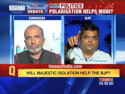 The Newshour Debate: Polarisation helps Modi? (Part 1 of 2)