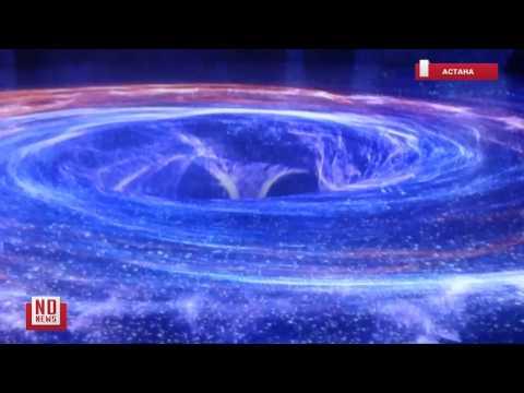 Лазерное шоу на EXPO 2017 в Астане