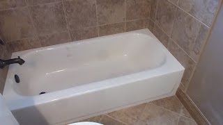 """(48.6 MB) Part """"1"""" HOW TO TILE 60"""" tub surround walls  - preparation, where to start tiling, tile layout Mp3"""