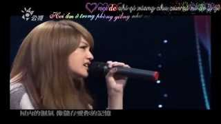 [Vietsub+Kara] Live 雨愛- 楊丞琳( Cơn mưa tình yêu - Dương Thừa Lâm) OST Khoảnh khắc ngọt ngào