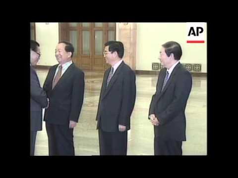 CHINA: JIANG ZEMIN LAUNCHES MAJOR DIPLOMATIC MISSION