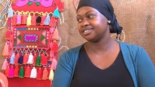 Bedouin women create contemporary folk art