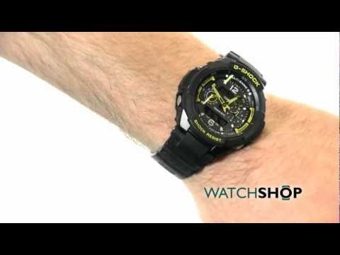 Men's Casio G-Shock Gravity Defier Alarm Chronograph Watch (GW-3500B