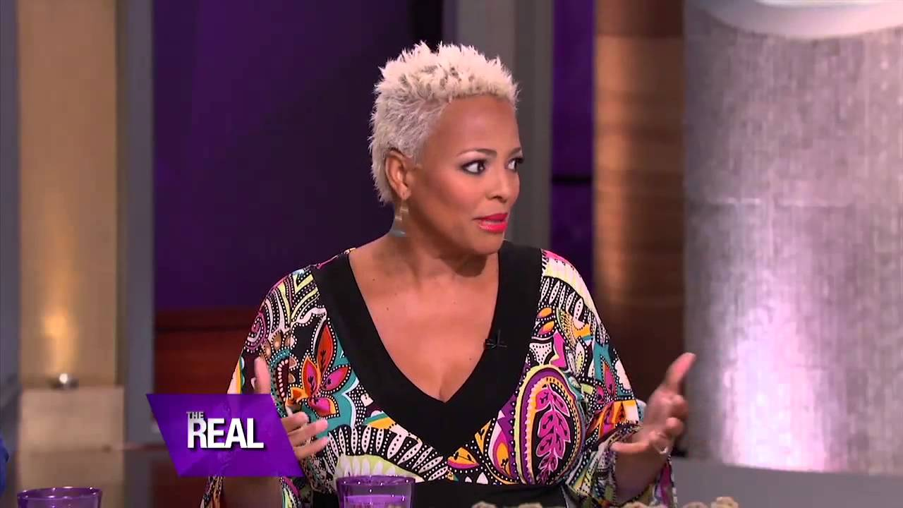 Kim Fields Announces She's Pregnant on 'The Real' - YouTube