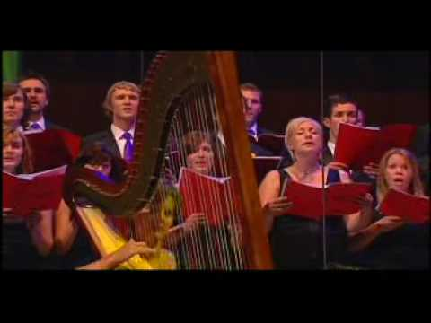 Prepared and broadcast as part of a celebration of St David's Day, the harpists celebrate Welsh hymns, in particular the famous stirring hymn Tydi a roddaist...