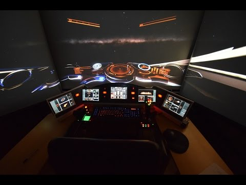 Elite: Dangerous - new enhancements in my 3 projector setup