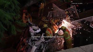 High Speed Fatal Crash / Lynwood  RAW FOOTAGE