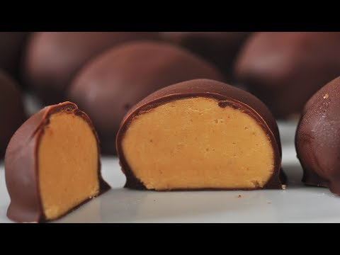 Peanut Butter Balls (Buckeyes) Recipe Demonstration