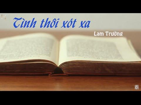 Lam Truong - Tinh Thoi Xot Xa