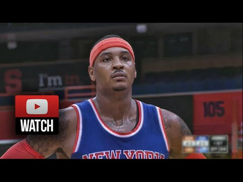Carmelo Anthony Full Highlights vs 76ers (2014.10.14) - 17 Pts, Return to Syracuse!