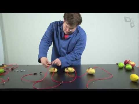 �rea 42: como produzir energia el�trica com lim�es (e outros ingredientes) - Tecmundo