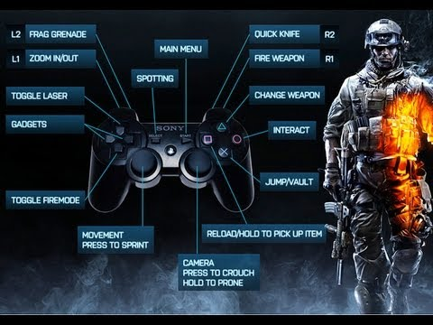 Control Controller Setting up Controls on Bf3 pc