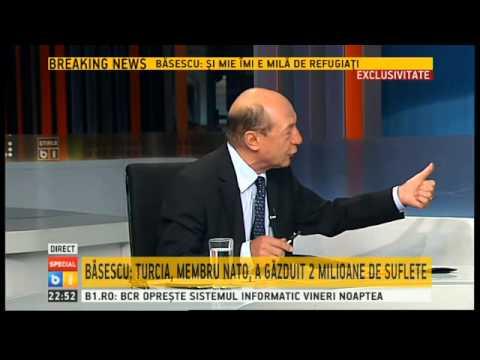 """Traian Basescu, invitat la """"Special B1"""" - 11.09.2015 - emisiune completă"""
