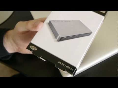 Gadget Review! LaCie Porsche P 9220 USB 3.0/2.0 Mobile Drive