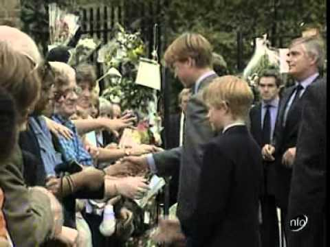 Princess Diana's Death- The Royal Family Return To London