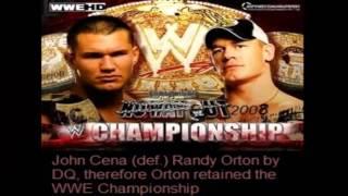 John Cena's PPV History and Results [2002-2013]