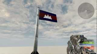 When Cambodia flag meet UDK!