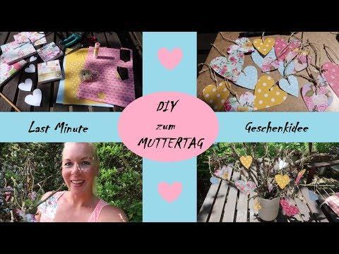 DIY | last minute Geschenkidee | Basteln für Muttertag | selfmade - diiiedaniii