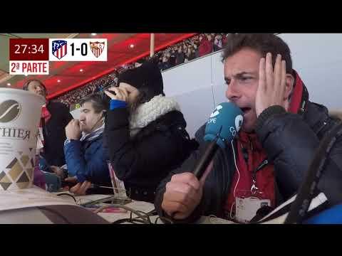 Atlético de Madrid, 1 - Sevilla, 2 (Copa del Rey) | Así lo narró Rubén Martín en Tiempo de Juego