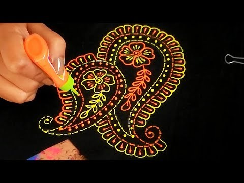 Liquid Embroidery design for Suits /blouses /dresses / lehnga& choli | Hand Embroidery