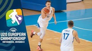 Albania v Czech Republic - Full Game - FIBA U20 European Championship Division B 2019