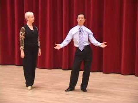 Silver Slow Foxtrot - Review of Basic Steps Ballroom Dance Lesson