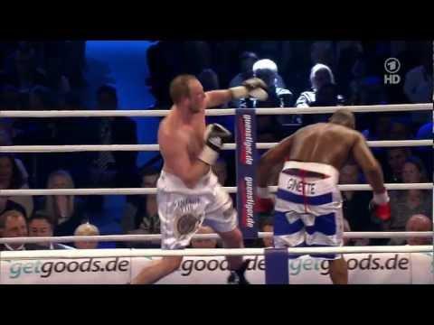 Michael Sprott (GBR) vs. Robert Helenius (FIN)