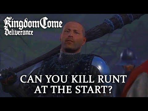 Can You Kill Runt Before the Game Starts? - Kingdom Come: Deliverance