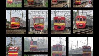 Kompilasi KA : KRL Jepang Livery Commuterline Terkini
