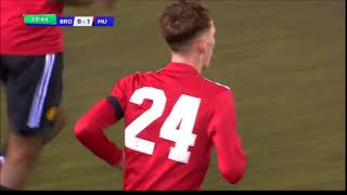 First half Brodarac - Manchester United UEFA Youth League 7.02.2018