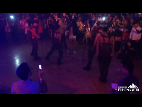 Prieto Gang ft. Diosa Canales (En Vivo) Mas money mas bitches (Angeles del Corazón - Eurobuilding)