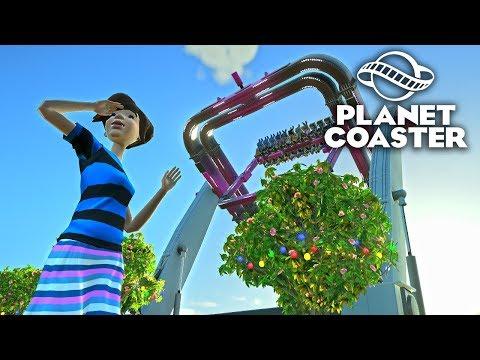 Planet Coaster - Больше аттракционов! #10