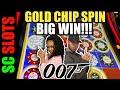 Yeah Multiple Gold Chip Bonus 007 Thunderball Slot Machine Jackpot Big Win mp3