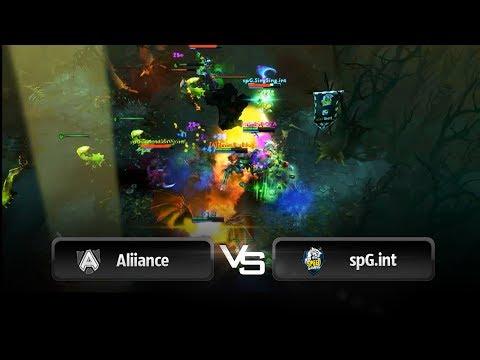 Triple Kill by S4 vs Speed gaming @ Dota 2 Champions League