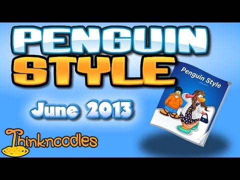 Club Penguin: June 2013 Clothing Catalog Cheats