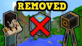 5 Features That Were REMOVED From Minecraft PE