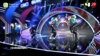 Arabs Got Talent - أولاد ياسين- عرض النصف نهائيات