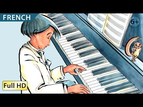 "The Little Pianist: Learn French with subtitles - Story for Children ""BookBox.com"""