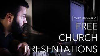 3 FREE Church Presentation Apps [The Tuesday Trio]