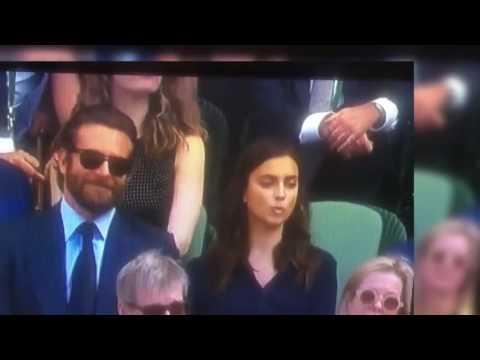 Pelea de Irina Shayk y Bradley cooper, realmente discutieron? Wimbledon