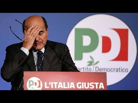 No government for Italy as Bersani fails to form a coalition