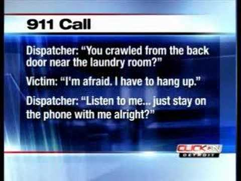 Ann Arbor Michigan: Kidnapped woman dials 911, cops rush in Video