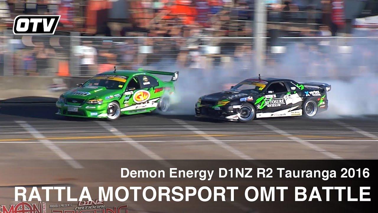 Battle: Rattla Motorsport's Curt Whittaker & Shane Allen - D1NZ Drifting R2 Tauranga 2016