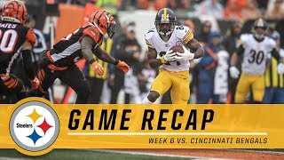 Week 6: Pittsburgh Steelers vs. Cincinnati Bengals | Game Recap